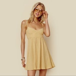 "NWOT Blue Life ""Alessia Dress"" Yellow Day Dress"